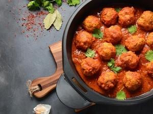 Resep Daging :Bola Daging Saus Tomat ala Italia