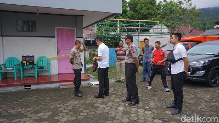 Kamar tempat pasangan selingkuh tewas di Baturraden