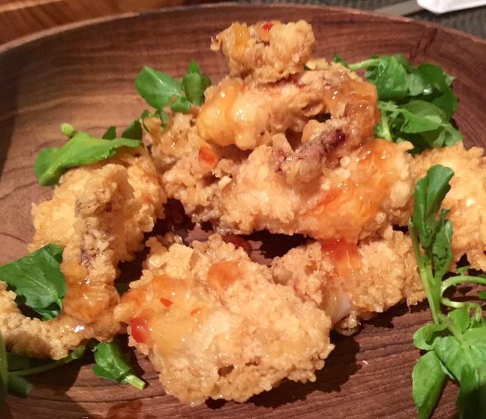 Ikan goreng saus Thailand