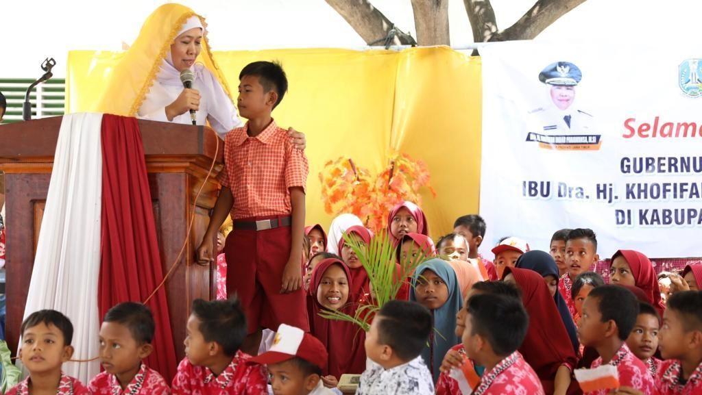 Gubernur Khofifah Resmikan Gedung SDN di Sulteng Pascatsunami Donggala