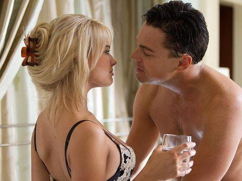 Margot Robbie dan Leonardo DiCaprio.