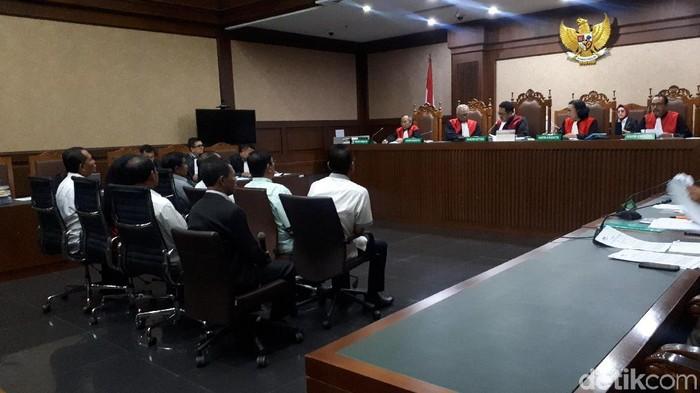 Sidang kasus suap Gubernur Kepri nonaktif Nurdin Basirun