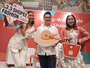 3.3 Shopee Fashion Sale Kasih Diskon 90% sampai Cashback, Mau?