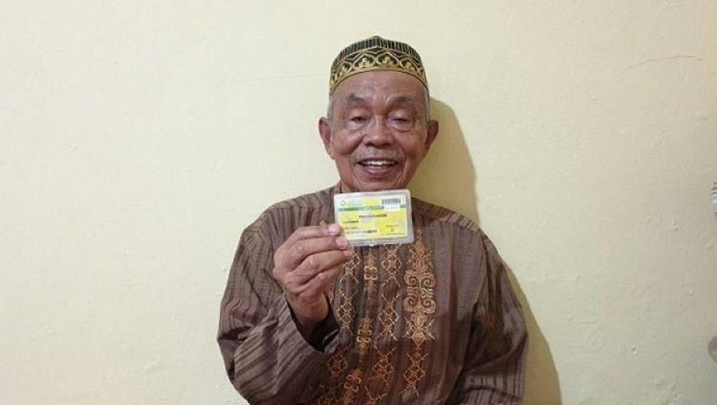 Kisah Kakek Rustaman Sembuh dari Katarak Hasil Pengobatan Gratis