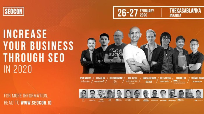 Poster SEO Conference 2020