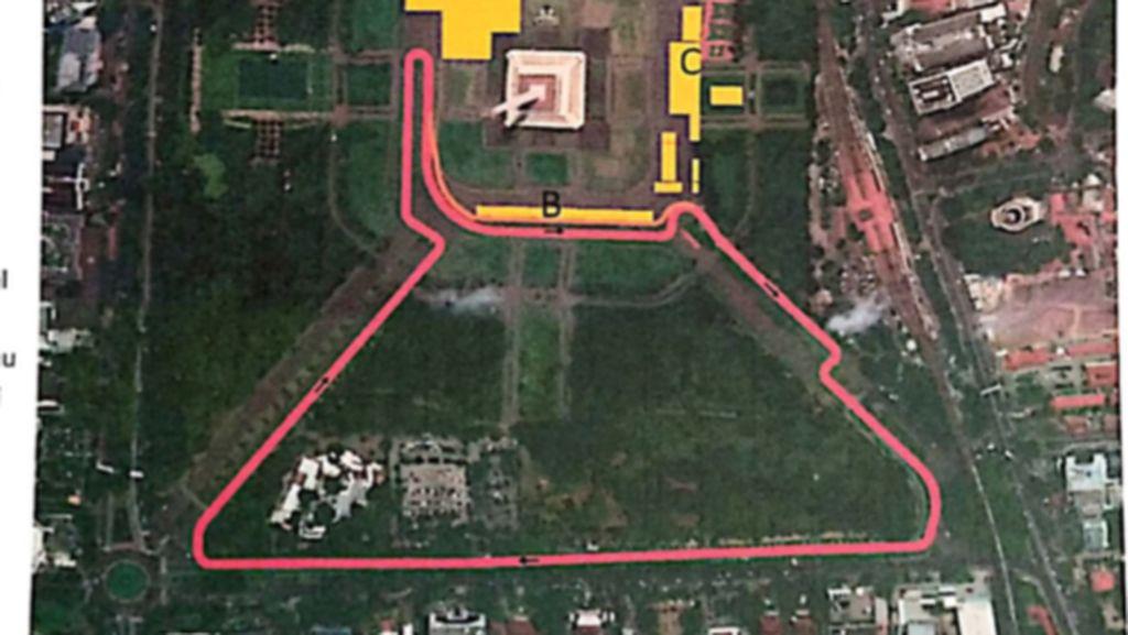 Ini Alasan Formula E Harus di Monas yang Kini Disoal Megawati