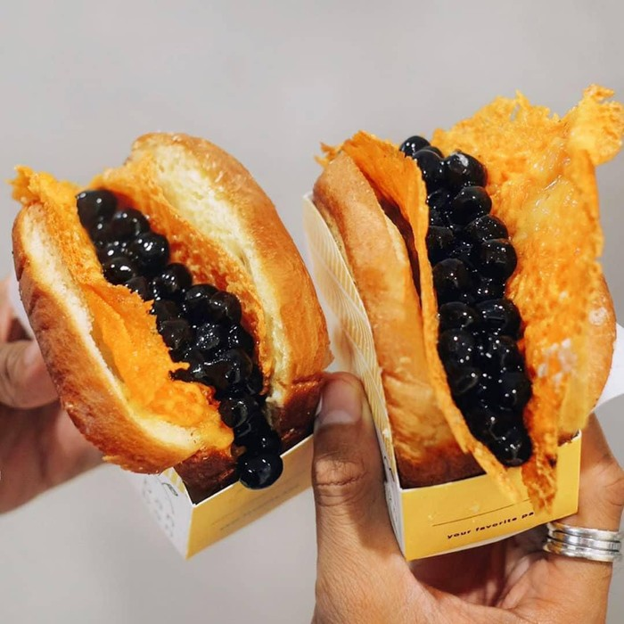 Boba Toast