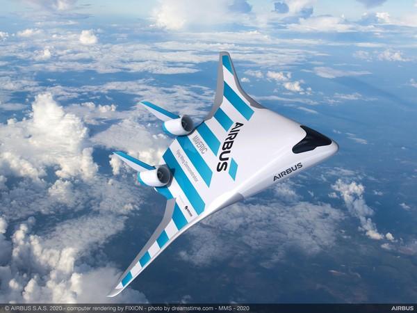 Pesawat model demo ini disebut MAVERIC(Model Aircraft for Validation and Experimentation of Robust Innovative Controls). Panjangnya dua meter dan lebar 3,2 meter (Foto: Airbus)