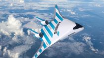 Airbus Rilis Desain Pesawat Mirip Jet Tempur Siluman