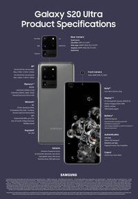 Mengintip Spesifikasi Galaxy S20, S20 Plus dan S20 Ultra