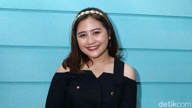 Prilly Latuconsina saat ditemui di kawasan Jakarta Pusat.