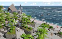 Alun-alun di Pelabuhan Ratu akan Jadi Secantik Ini