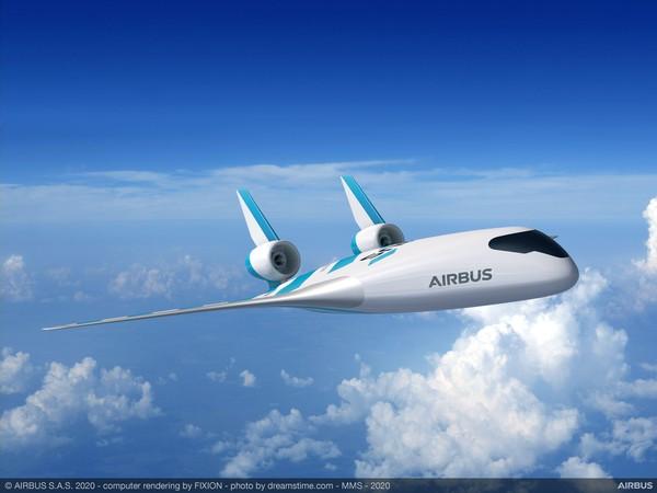 Pabrikan pesawat asal Perancis itu juga telah meluncurkan model demo dalam skala kecil. Pesawat itu dikendalikan secara jarak jauh dan telah dipamerkan dalam uji desain di Singapore Air Show 2020 pada hari Selasa lalu (Foto: Airbus)