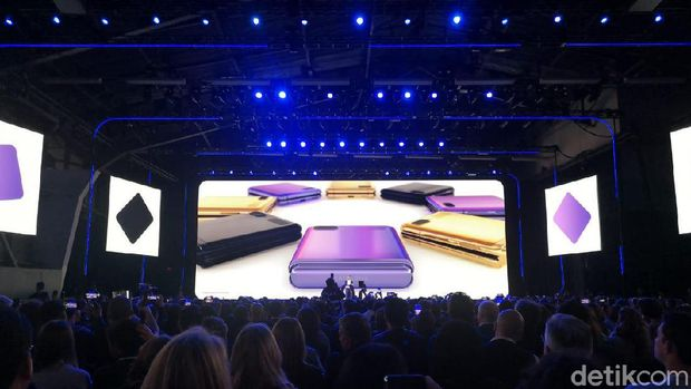 Pilihan warna Galaxy Z Flip