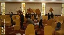Viral! Video TikTok Parodi Lempar Kursi Kongres PAN