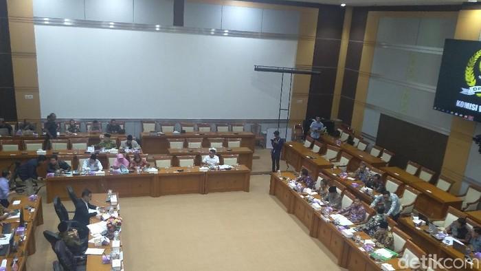 Rapat Komisi VIII dengan Kemenag di DPR (Foto: Azizah/detikcom)