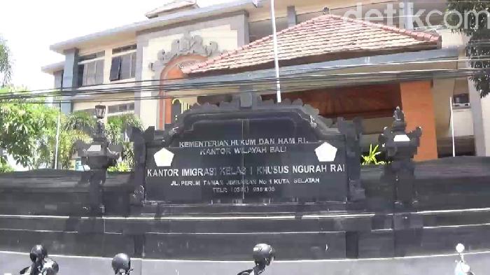 Angga Riza-detikcom/ Kantor Imigrasi Ngurah Rai Bali
