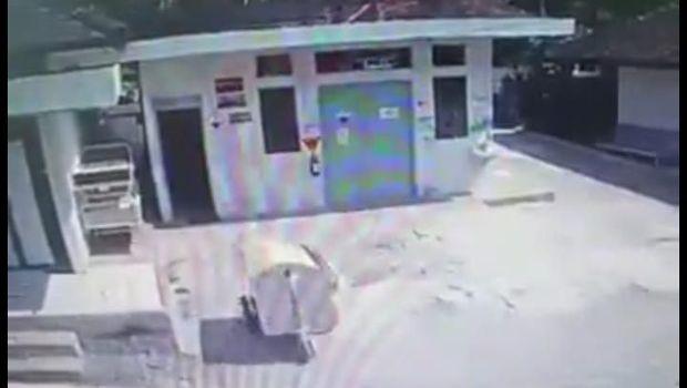 Heboh Video Gerobak Jalan Sendiri di RS Gunungkidul Bikin #rabuambyar