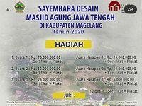 Sluurr Sayembara Desain Masjid Agung Jateng Berhadiah Ratusan Juta