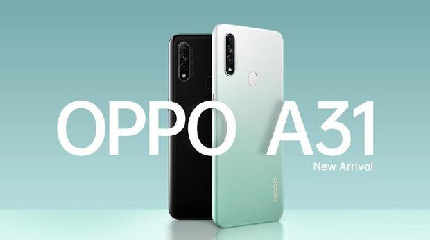 Oppo A31 punya tiga kamera di bagian belakang