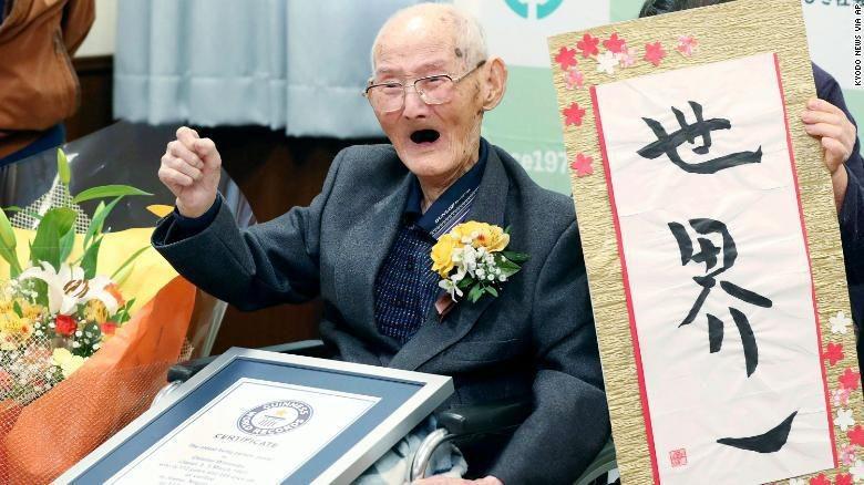 Pria tertua di dunia.