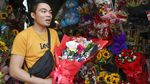 Unik! di Filipina Ada Buket Bunga Antivirus Corona Jelang Valentine