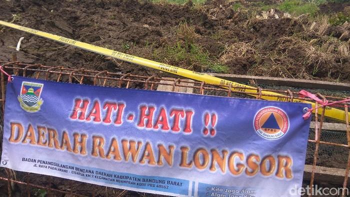 Longsor di Bandung Barat