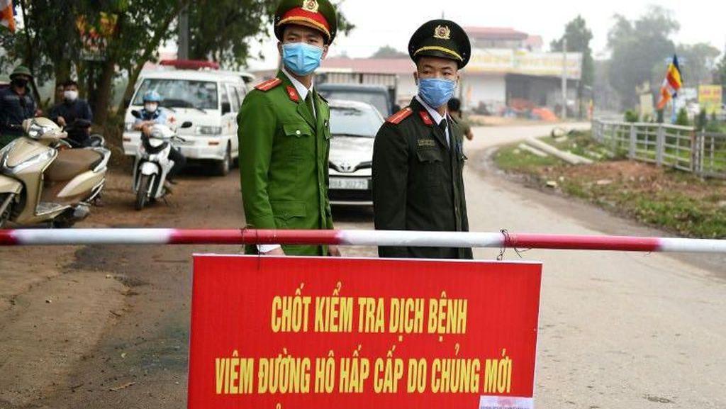 Vietnam Karantina Wilayah Berpenduduk 10 Ribu Orang karena Virus Corona