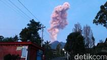 Penampakan Erupsi Gunung Merapi Tadi Pagi