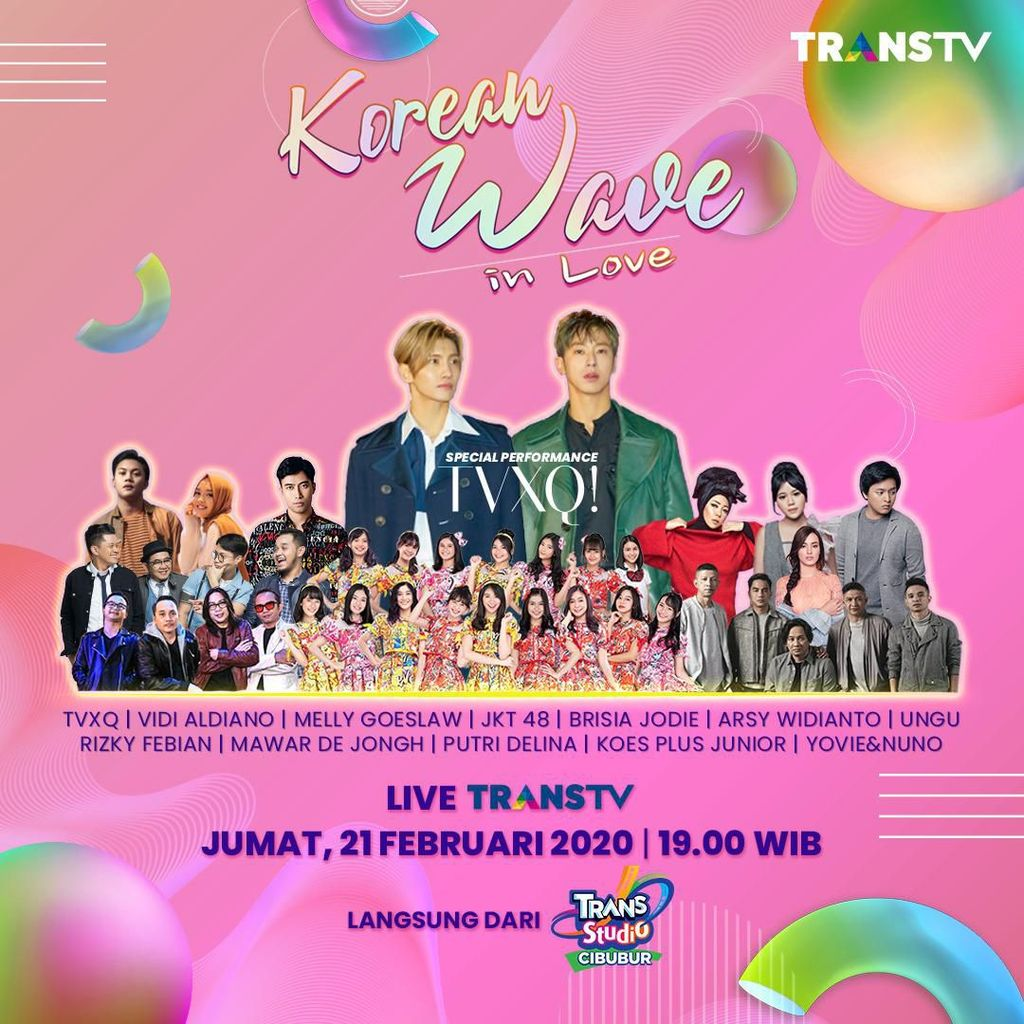 Tonton Korean Wave in Love, Ada TVXQ di Sini!