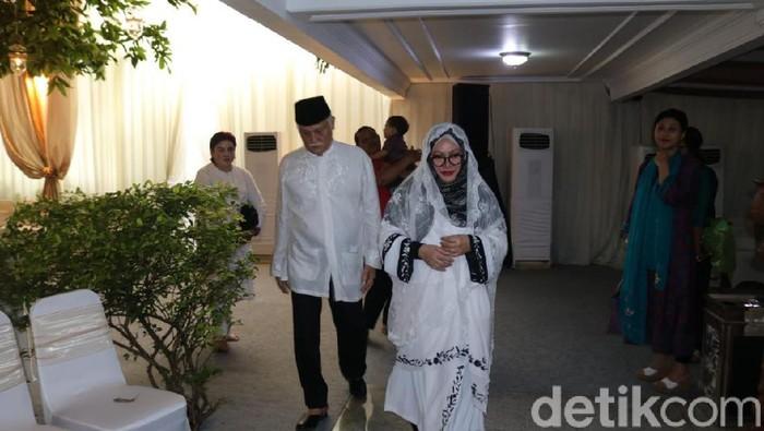Pengajian jelang pernikahan cucu Soeharto (Hanif Hawari/detikcom)