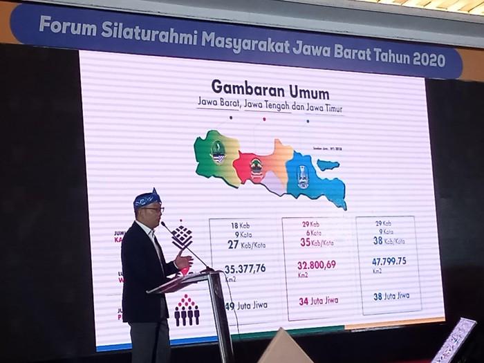 Gubernur Ridwan Kamil di Forum Silaturahmi Jabar