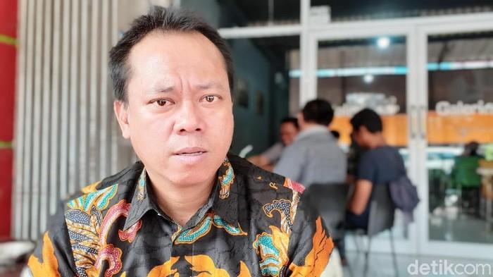 Direktur Operasional (Dirops) PD Parkir Makassar Susuman Halim.