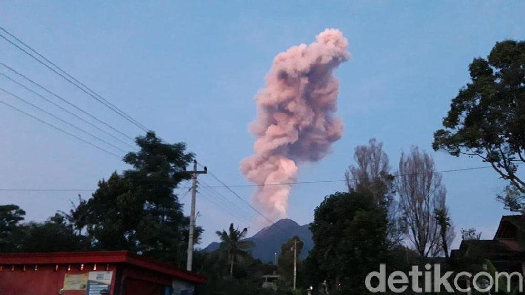 Gemuruh Merapi Erupsi Terdengar di Setabelan, Kampung 3,5 Km dari Puncak