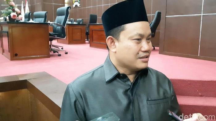 Ketua pansus aset Tb Ridwan Ahmad (Bahtiar Rifai/detikcom)