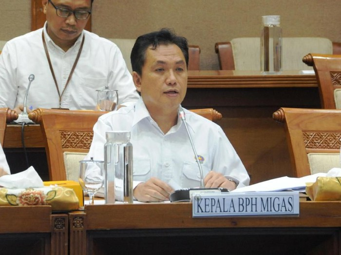 Kepala BPH Migas, M. Fanshurullah Asa