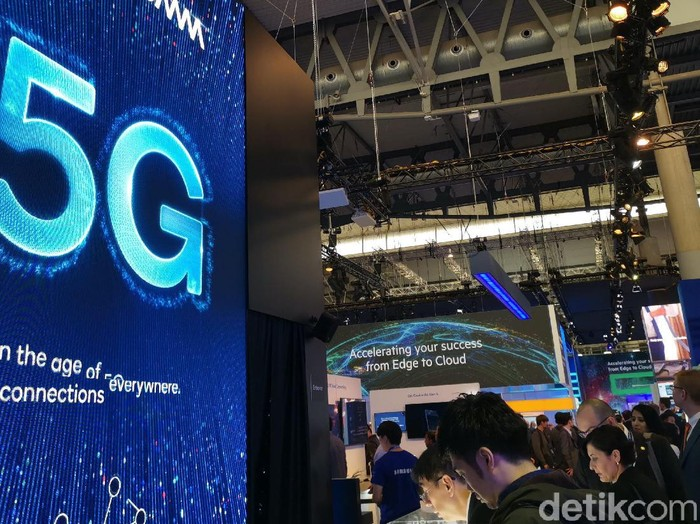 Booth Qualcomm di Mobile World Congress (MWC) 2019