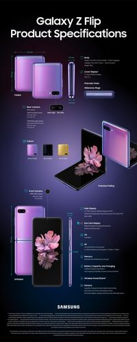 Galaxy Z Flip, Ponsel Layar Lipat Harga Rp 21 Juta