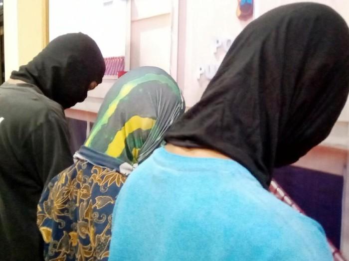 Jumpa pers kasus penganiayaan siswi SMP di Purworejo, Kamis (13/2/2020).