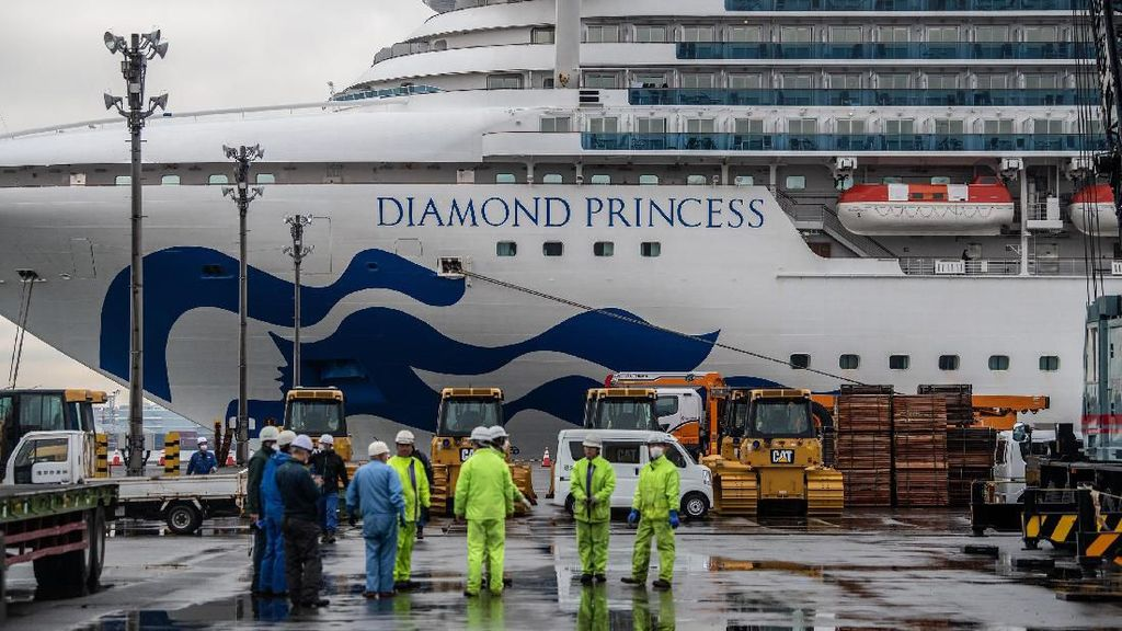 2 Penumpang Kapal Pesiar Diamond Princess Meninggal karena Virus Corona
