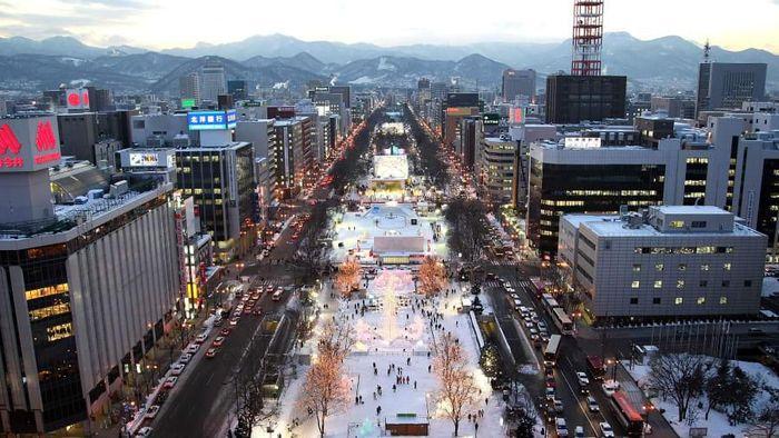 Festival Salju di Jepang
