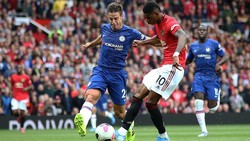 Chelsea Vs MU: Gawang The Blues Favorit Marcus Rashford