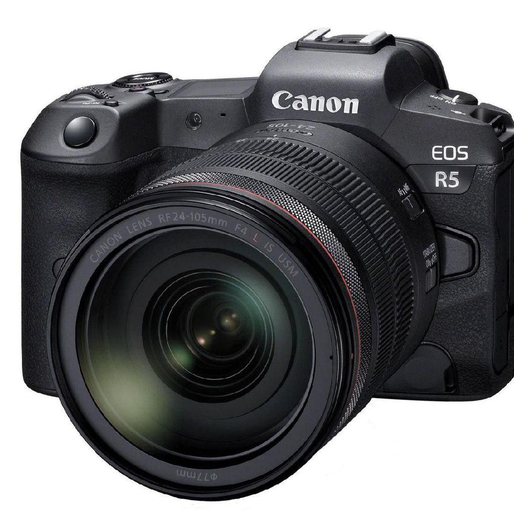 Canon EOS R5, Punya IBIS dan Bisa Rekam Video 8K