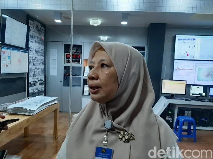 Kepala BPPTKG Hanik Humaida, Kamis (13/2/2020).