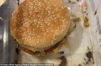 Hii..! Pria Ini Makan Burger dan Kentang Goreng yang Diukubur Selama Setahun