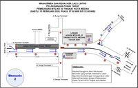 Skenario 2 Rekayasa Lalu Lintas Terkait MTQ Medan