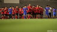Latihan Perdana Timnas Dibawah Arahan Shin Tae-yong