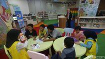 Perpusnas yang Ramah Anak dan Penuh Warna
