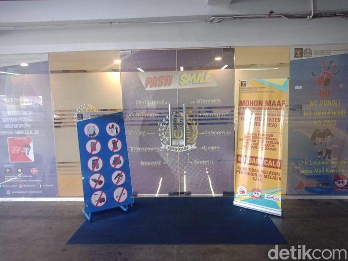 Foto: Tempat Membuat Paspor yang Efisien di Lippo Mall Kemang