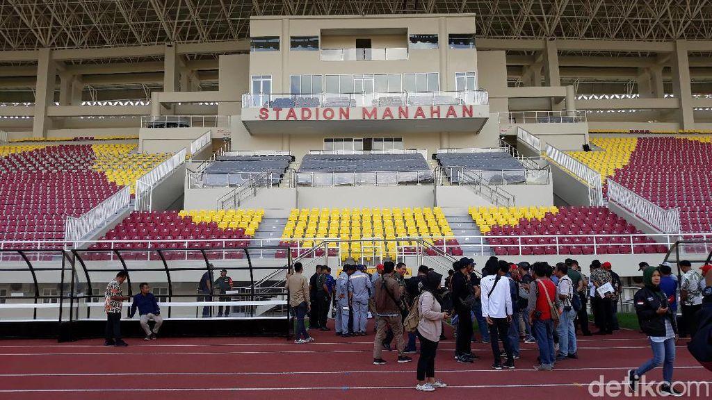 Jokowi Direncanakan Resmikan Stadion Manahan di Sabtu Legi